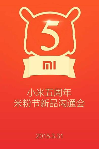 Xiaomi 5 aniversario mi pad