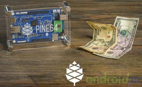 Pine64 PCB Allwinner R18