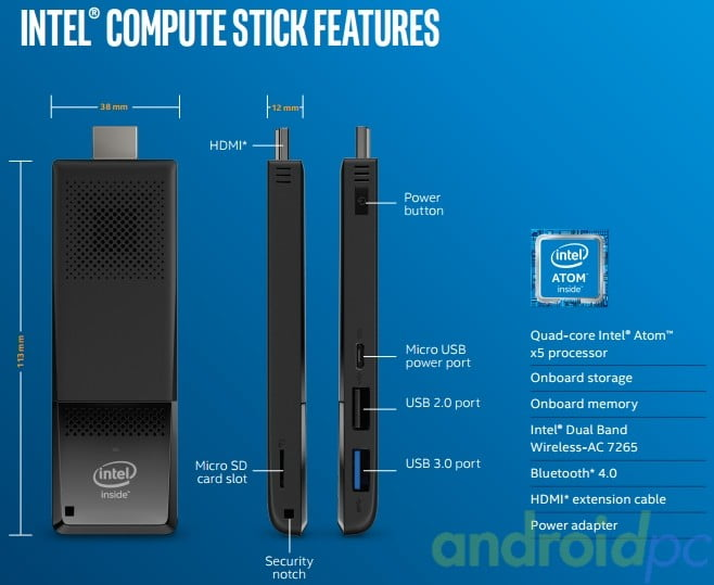 intel compute stick atom x5 f02
