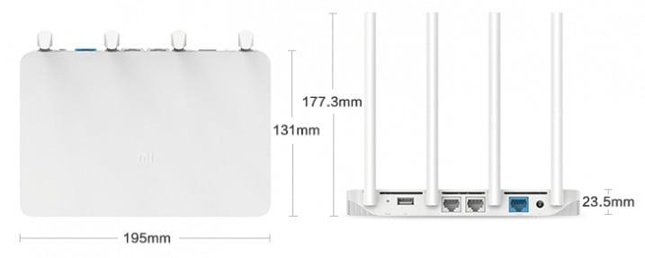 Xiaomi mi wifi 3 router