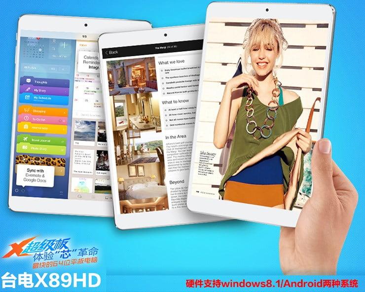 X89HD Teclast
