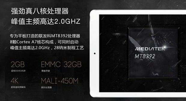 V919 Octa Core Mediatek