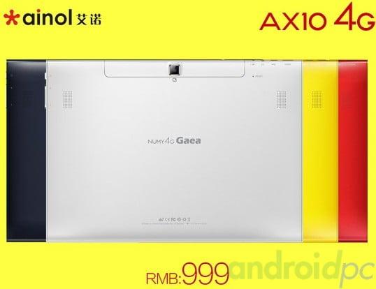 Ainol AX10 4G Mediatek