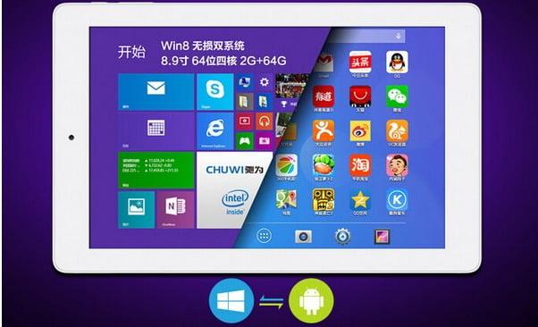 Chuwi V89 Dual OS Intel