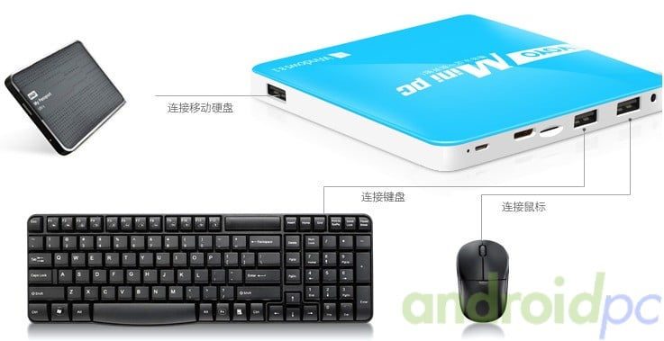 VOYO Mini PC WINTEL Soc