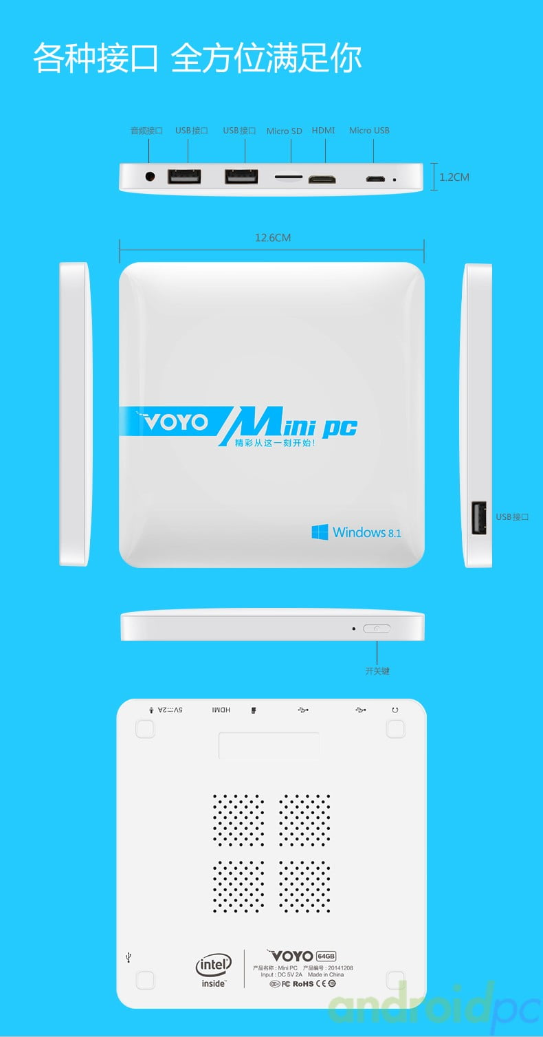 VOYO Mini PC WINTEl