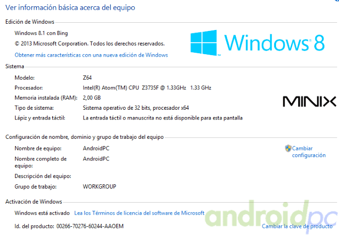 minix-neo-z64-windows-sys