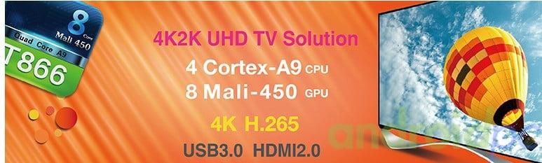 AMlogic T866 SoC SmartTV