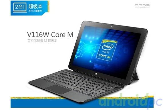 Onda V116w Core M