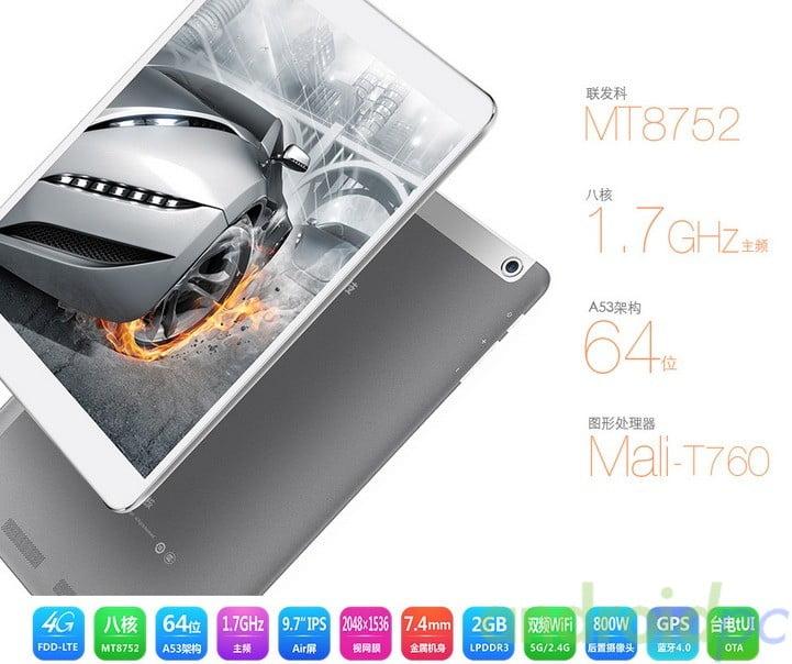 Teclast P98 4G Mediatek