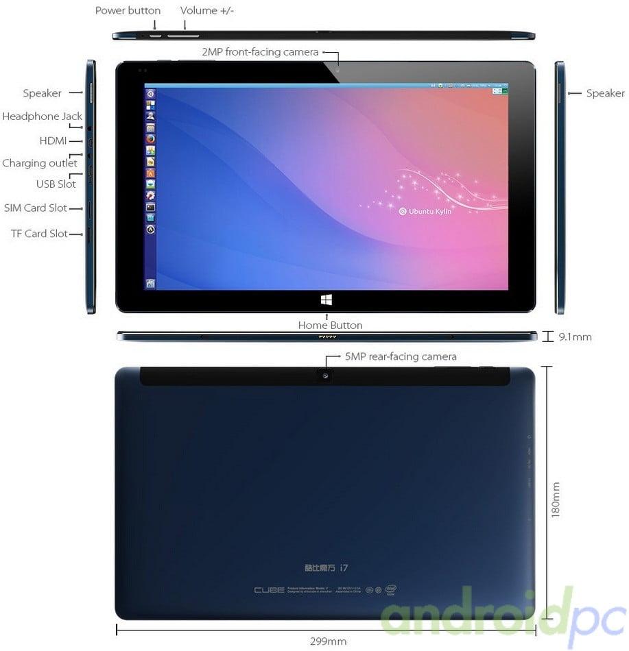 Cube Core M Tablet