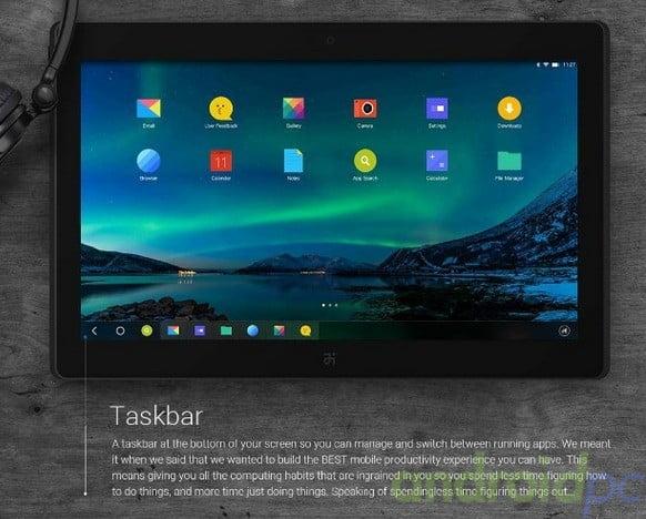 Remix OS Tegra 4 Tablet