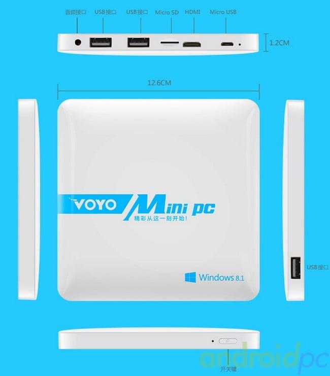Voyo 4GB miniPC Windows