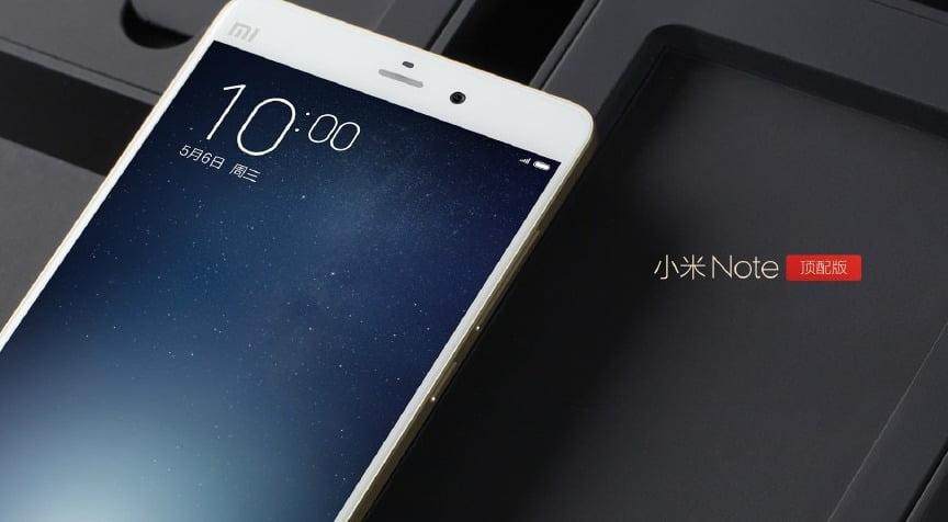 Xiaomi Mi Note Pro Snapdragon 810 2K
