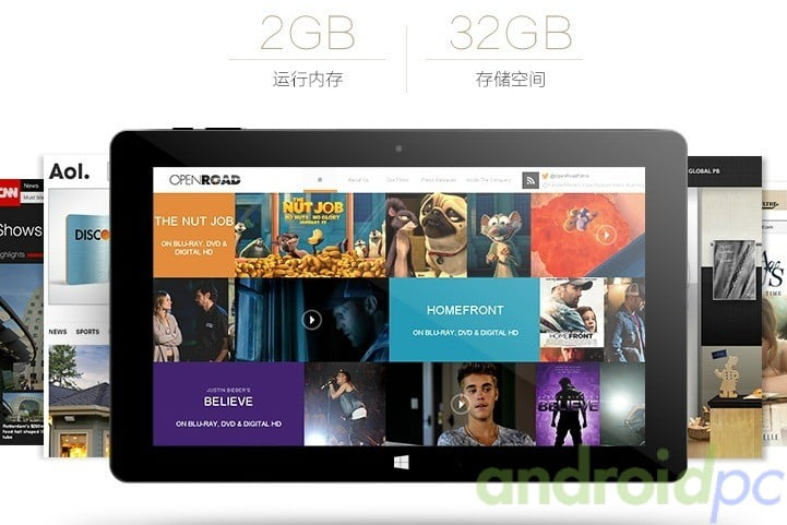 CUBE i10 tablet Dual OS