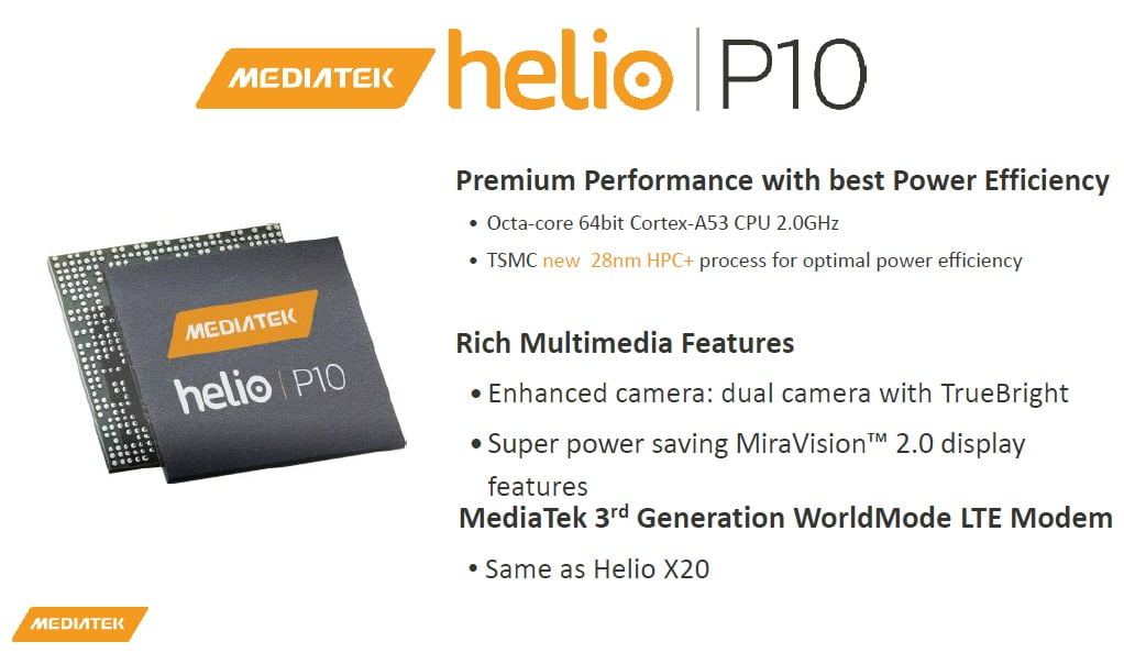 Helio P10 Octa Core Mediatek