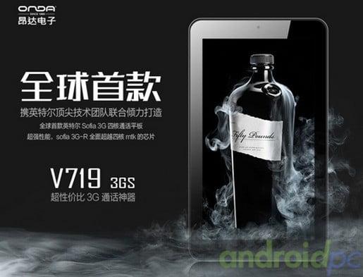 Onda V719 3Gs Sofia X3