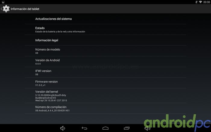 PIPO X8 Android 00004