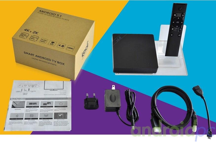 Beelink i68 rk3368 Octa Core androidTV