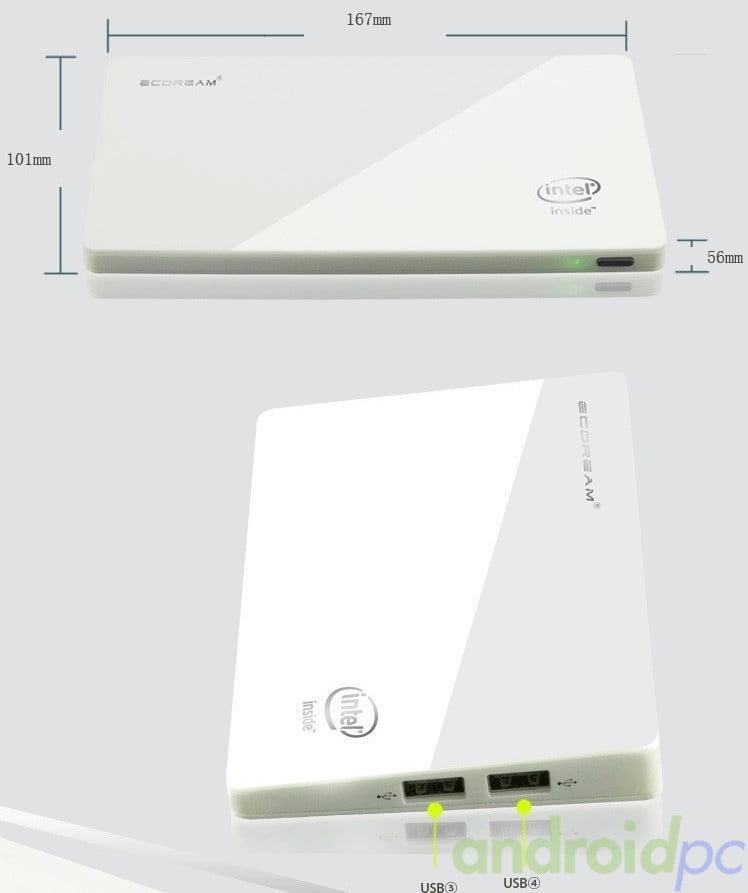 Ecdream V3 miniPC fanless