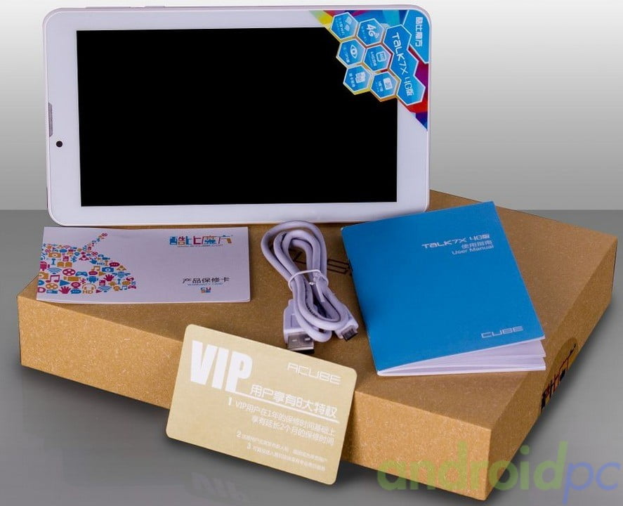 Cube 7X 4G U51GT tablet