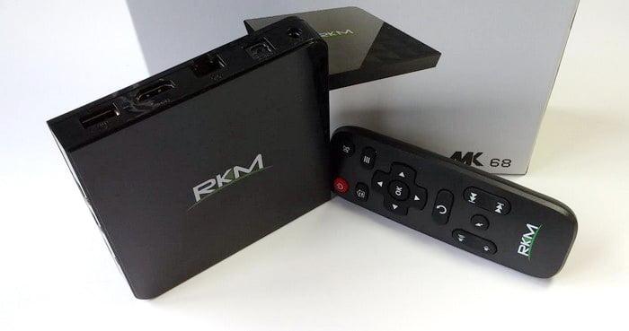 RKM MK68 Octa Core AndroidTV