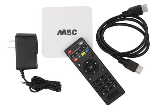 M5C S805 AndroidTV Quad Core