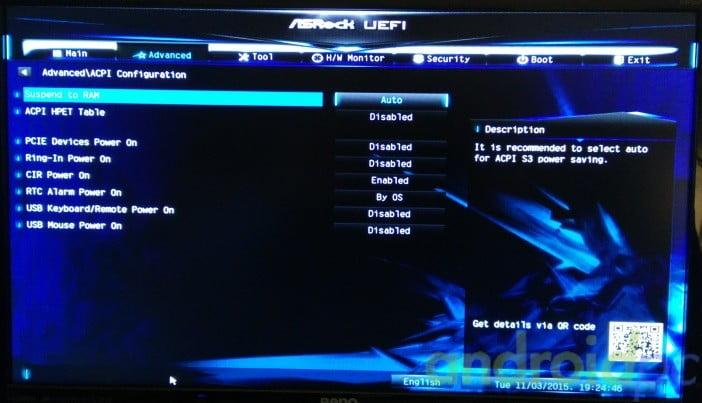 ASROCK N3150TM-ITX bios