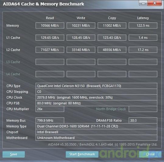 ASROCK N3150TM-ITX dual