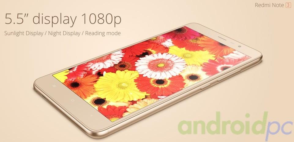 Redmi NOte 3 Helio X10 Xiaomi Mediatek