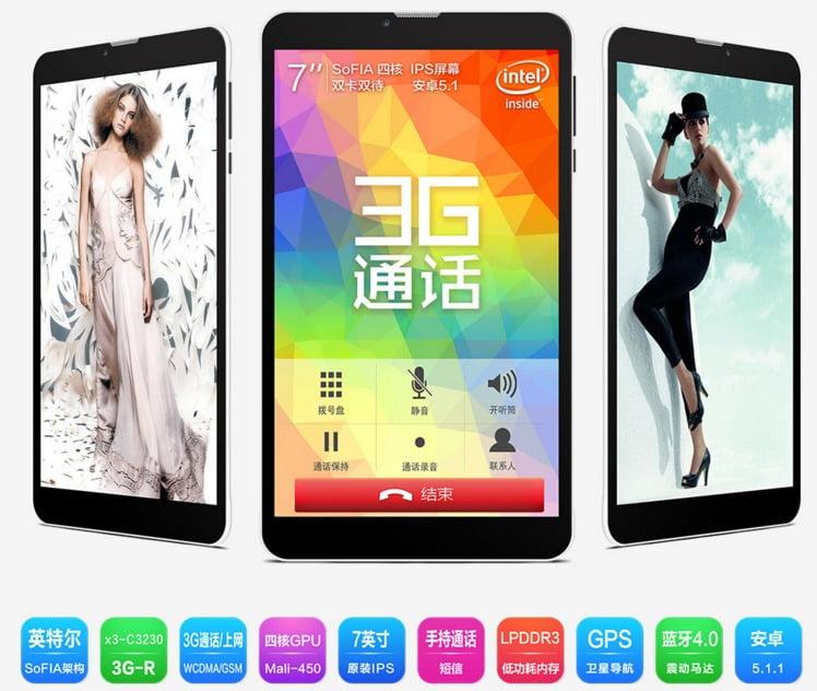 Teclast X70 tablet Intel