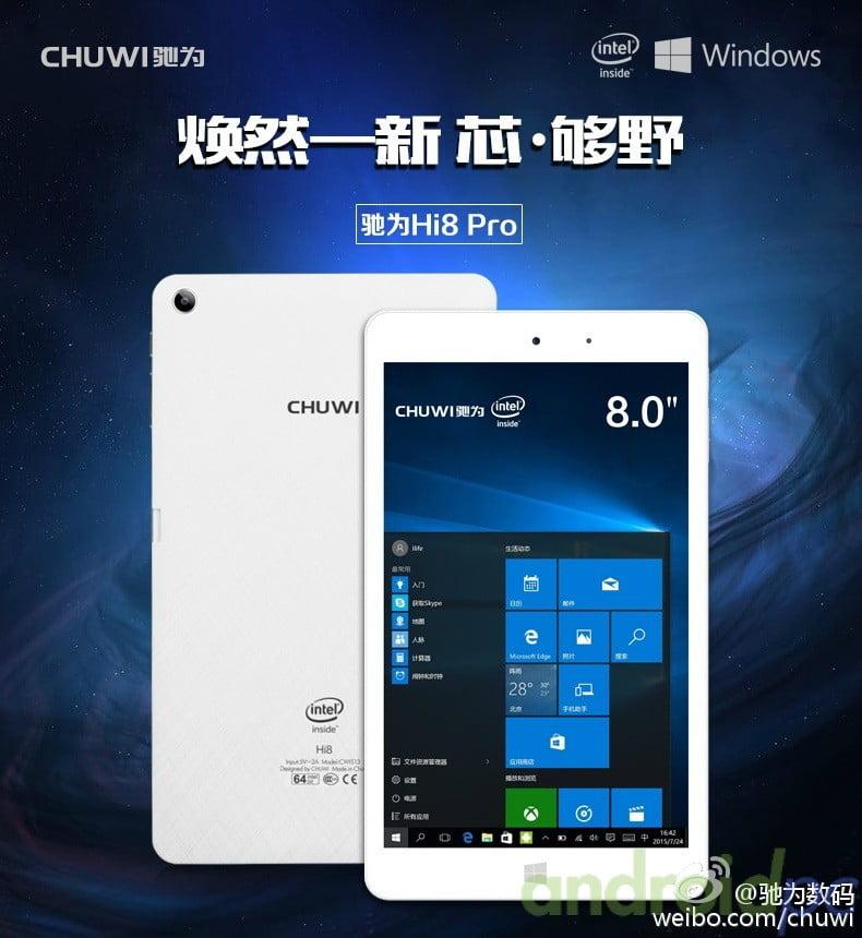 chuwi Hi8 PRO Intel