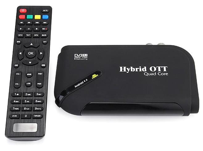 Hybrid OTT DVB-T2 S805