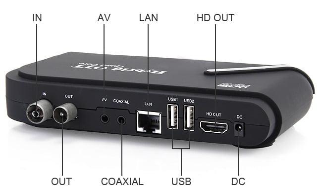Hybrid OTT DVB-T2