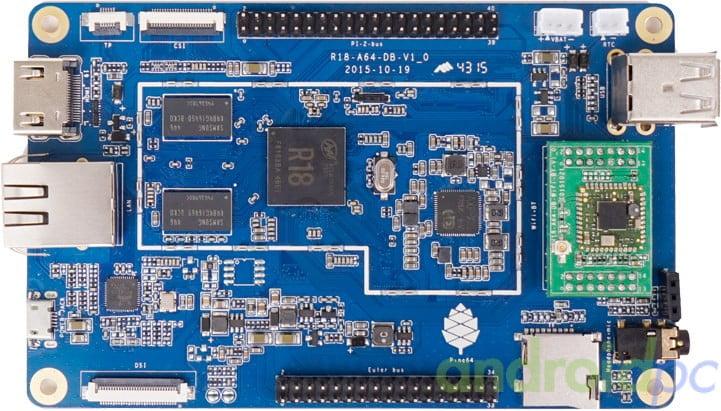 Pine64 PCB