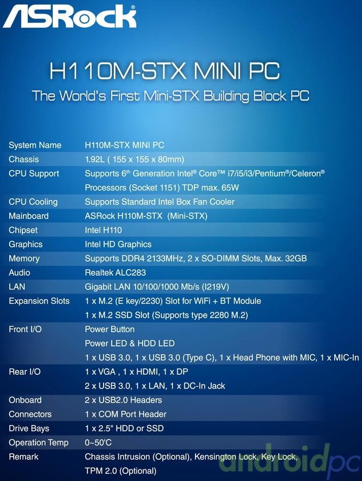 ASRock H110M-STX new01