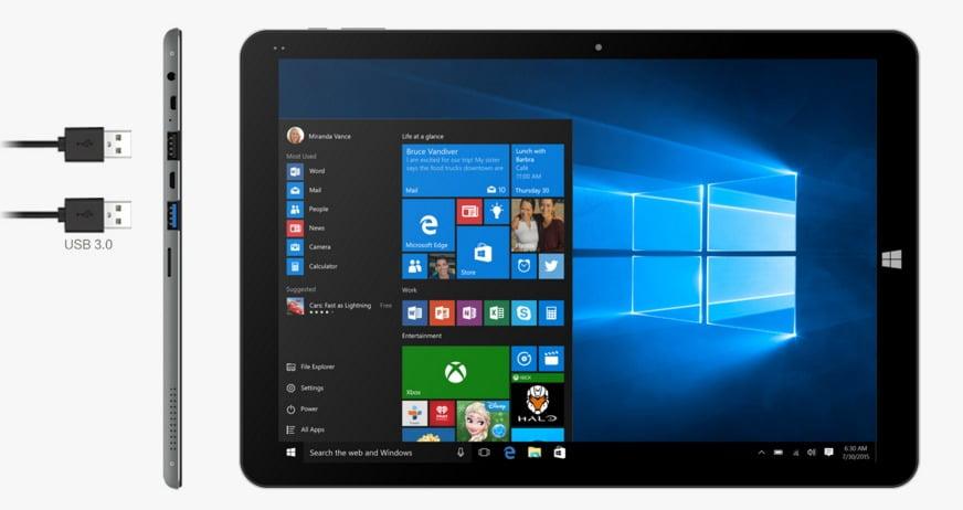 Chuwi Hi12 tablet windows10