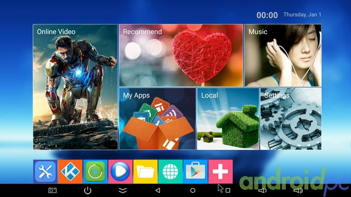 M18 S905 AndroidTV 2