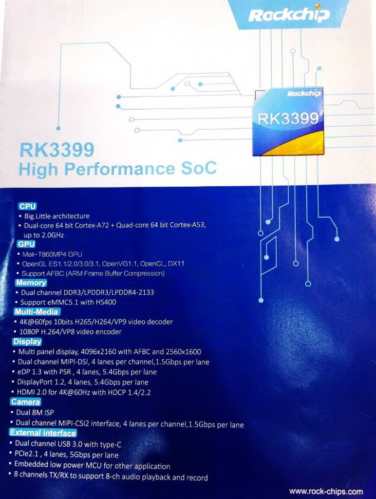 RK3399 Rockchip