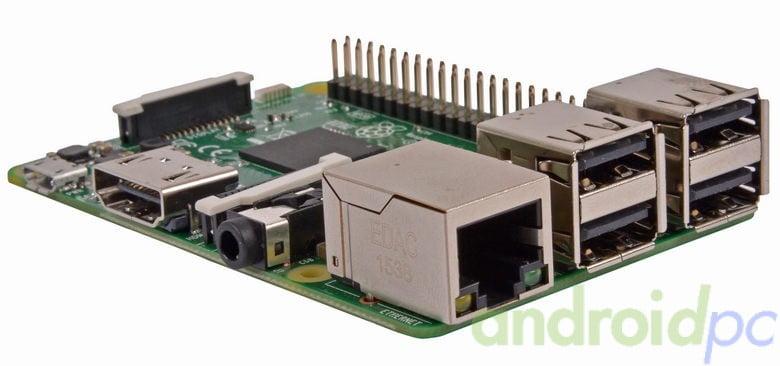 Raspberry Pi 3 modelo B 64bit broadcom