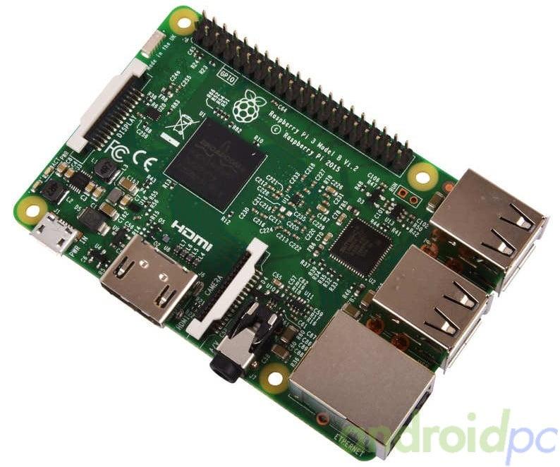 Raspberry Pi 3 modelo B 64bit