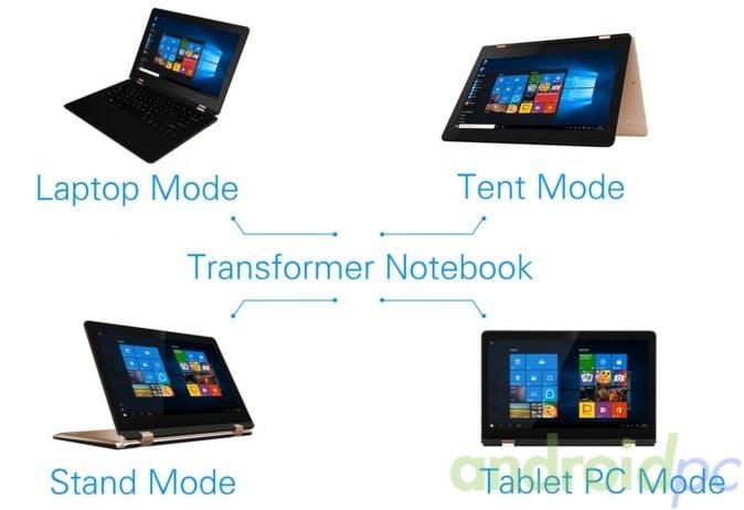 Vido W11pro3 Intel x5-z8300