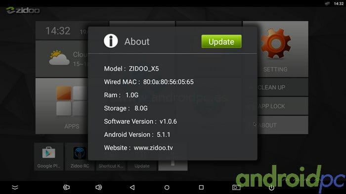 ZIDOO x5 Review S905 10