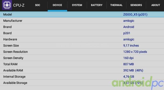 ZIDOO x5 Review S905 19