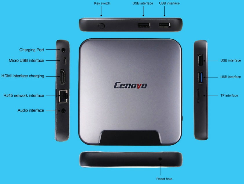 Cenovo miniPC 2 Z8300 Windows