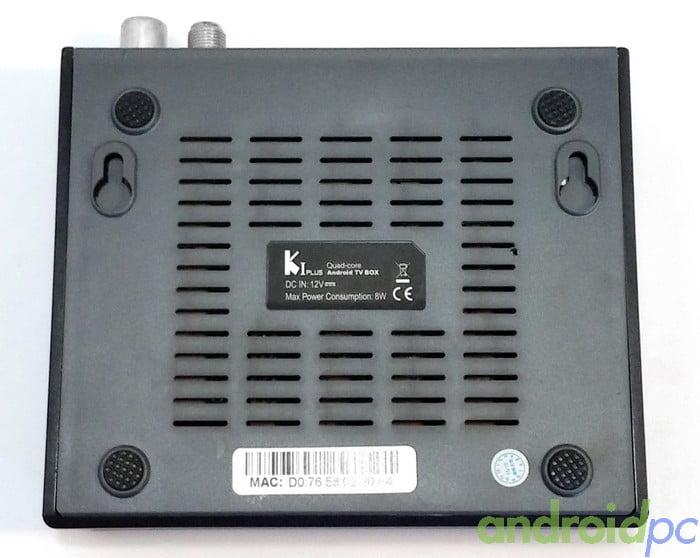 KI Plus S905 DVB-T2-S2 Back