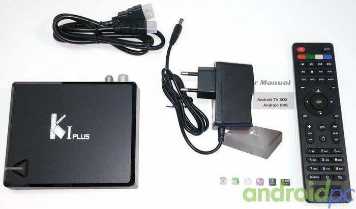 KI Plus S905 DVB-T2-S2 unboxing