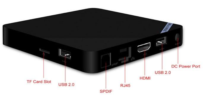 Mini M8S S905 Media Player 4K