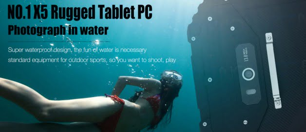 NO 1 X5 tablet 4G lte mediatek