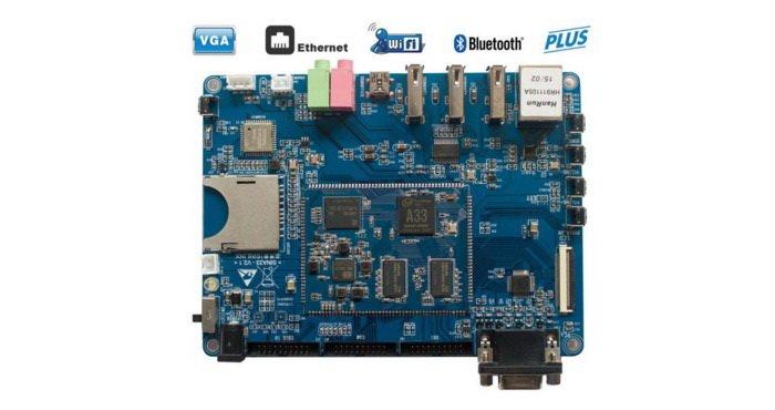 Sinlinx SIN-A33 Plus Allwinner A33 PCB ARM